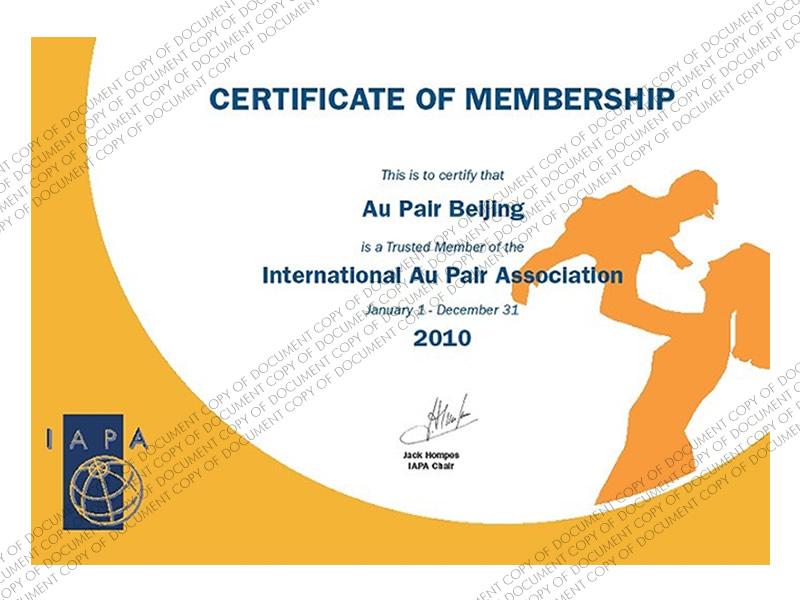IAPA Membership 2010