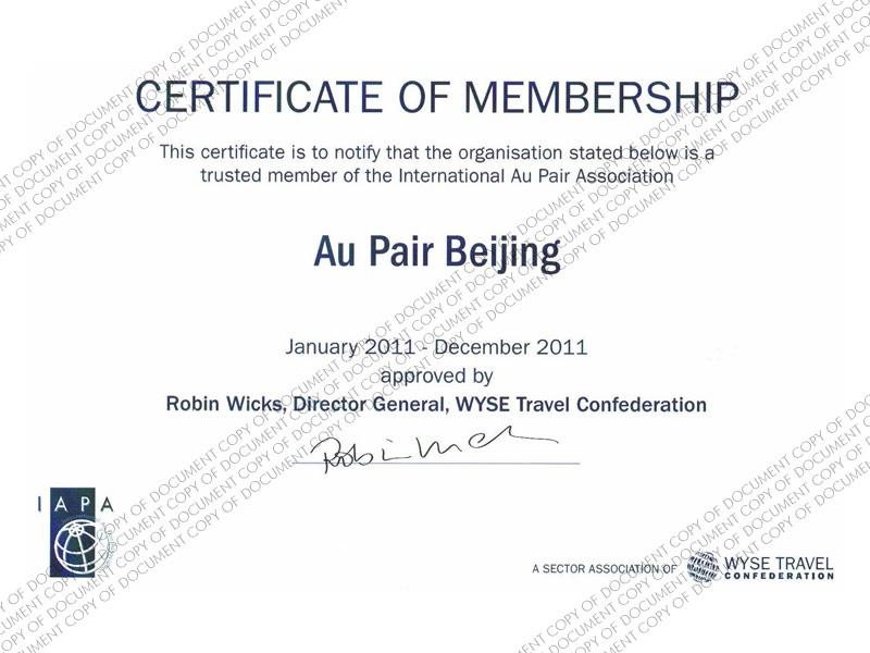 IAPA Membership 2012
